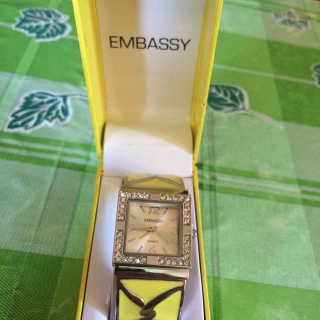Embassy ladies watch