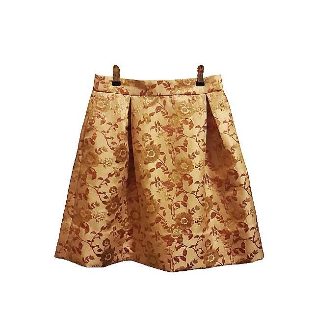 Flower Flare Skirt
