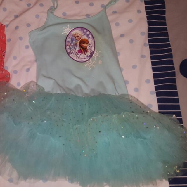 Frozen Tutu Dress Blue