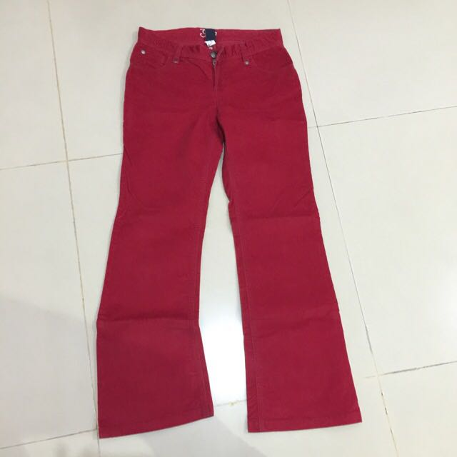 GAP ORI velvet pants