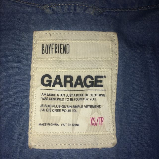 Garage Boyfriend Denim