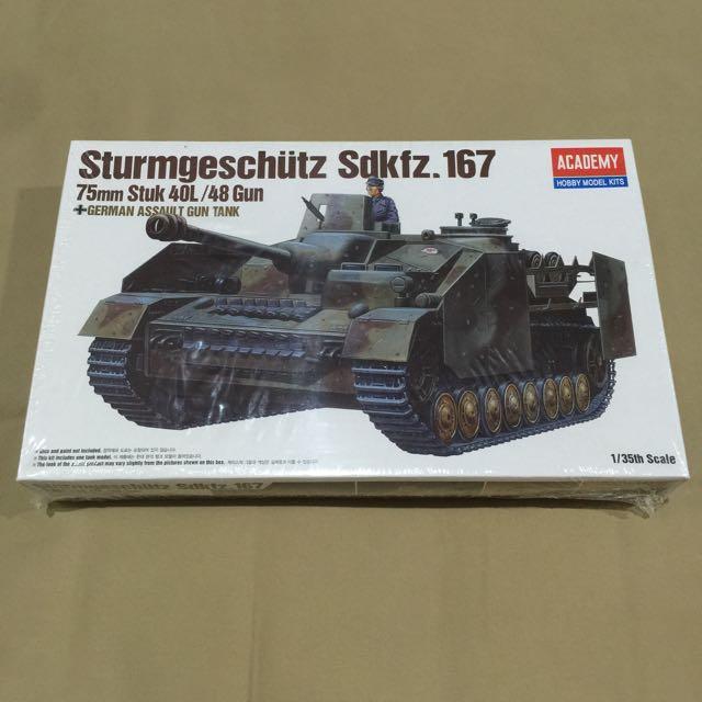Tank Model Kits (baru masih dibungkus plastik)