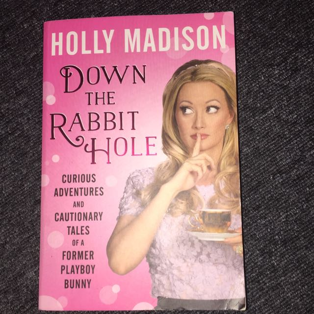 Holly Madison 'Down The Rabbit Hole' Book