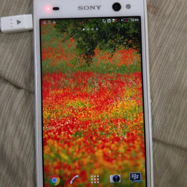 Hp Second Sony c3 Single Sim