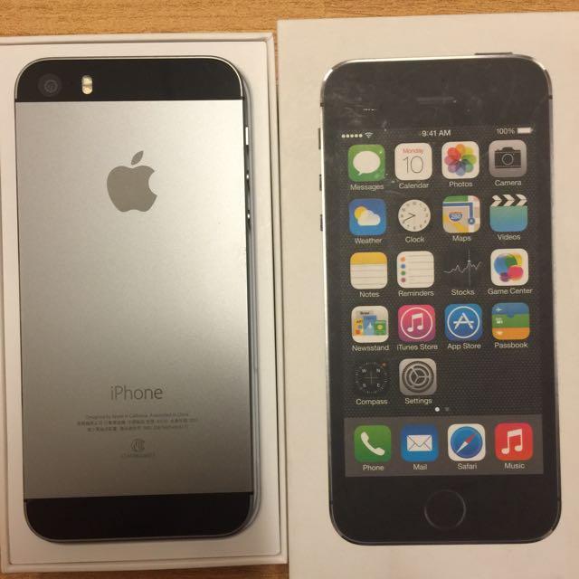 iPhone 5s 32G太空灰