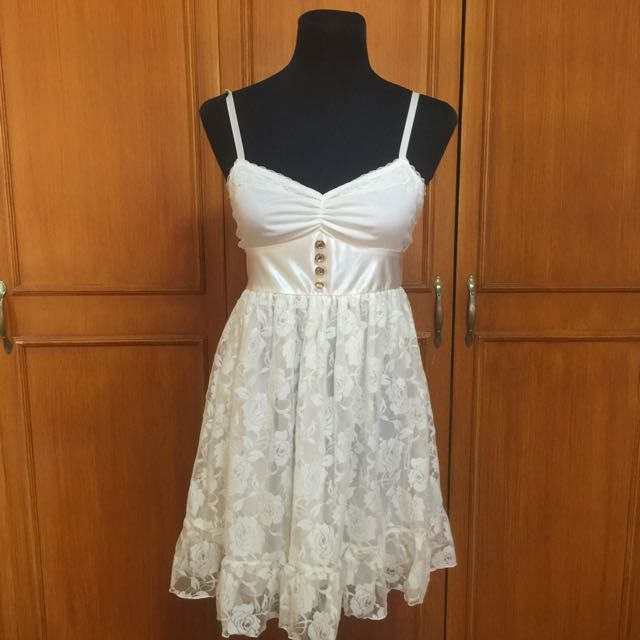 (Japan) Little White Dress