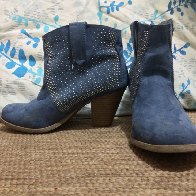 Just Jeans Size 8 Boots