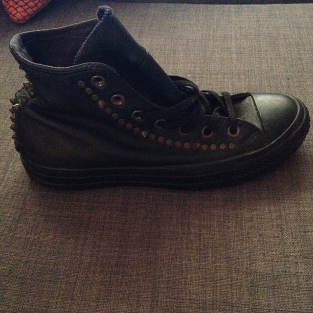Leather Converse Size 8
