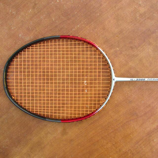 已預訂)mmoa 羽球拍 羽球 racket 4u