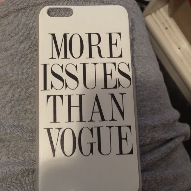 More Issues Than Vogue - iPhone 6 Plus Case.