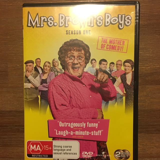 Mrs Browns Boys Seasons 1,2 &3