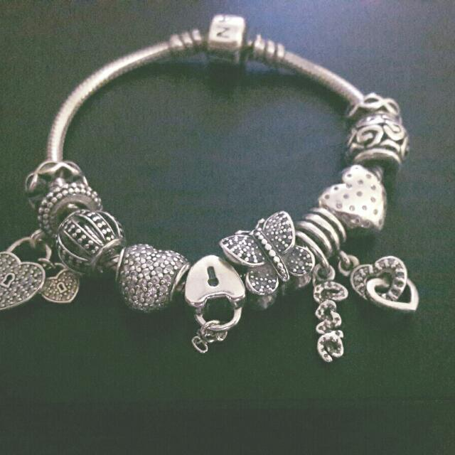 Authentic Pandora Bracelets Reserved Luxury On Carousell