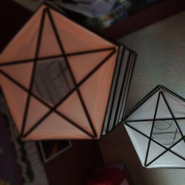 Pentagram Lanterns