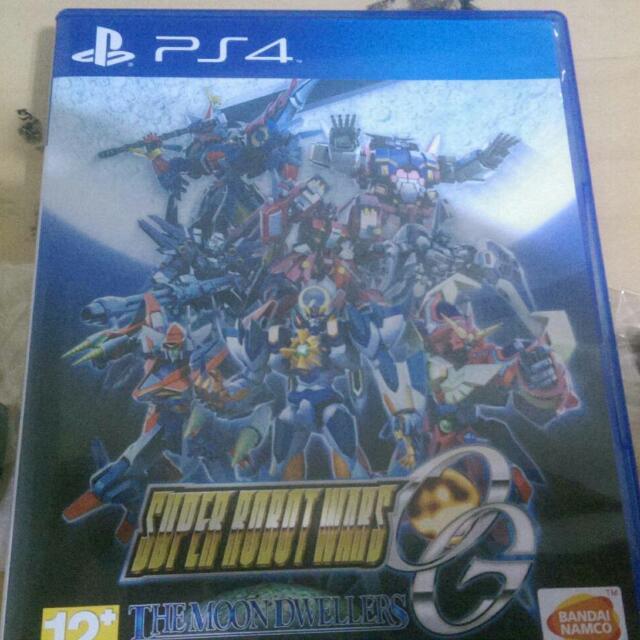 PS4 含特典 實體 超級機器人大戰OG中文