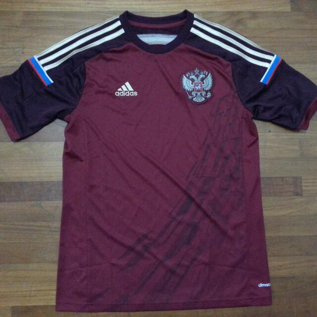 outlet store 065cd 419af Authentic Russia World Cup 2014 Football Jersey, Sports ...