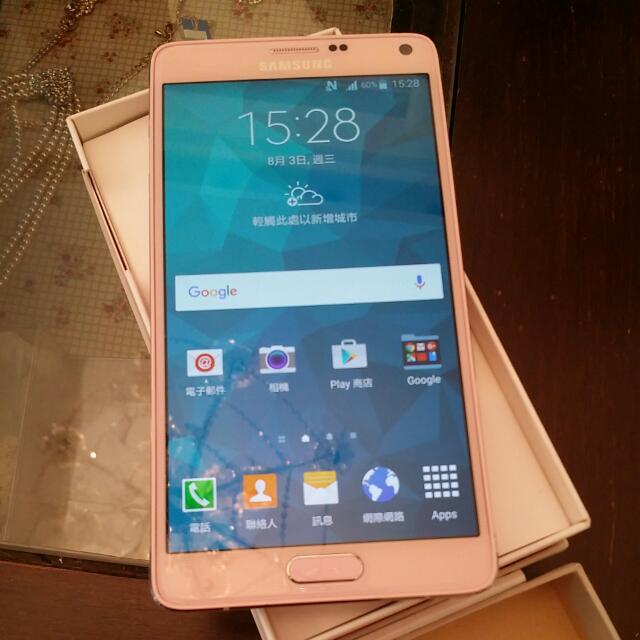Samsung Note4 粉色