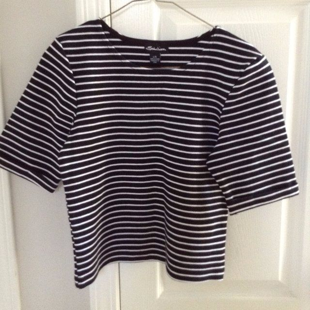 Seductions by Sirens Striped Crop Top