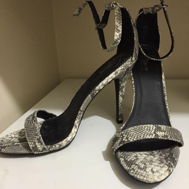 Size 10 Snakeskin Heels