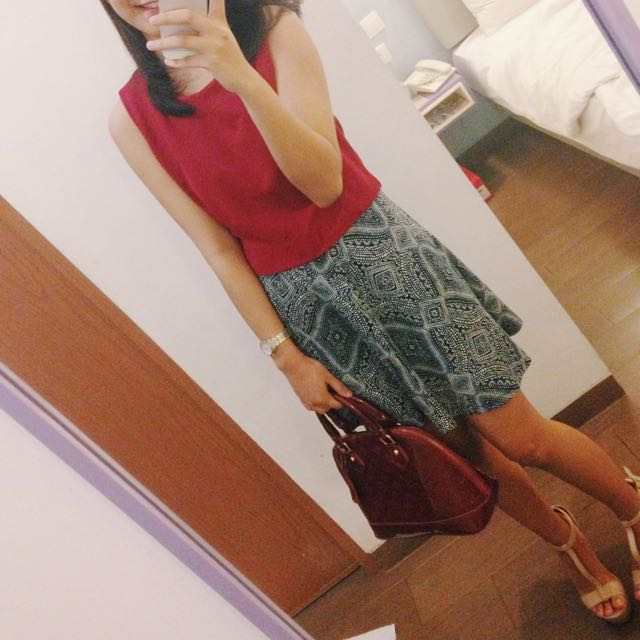 Skirt By H&M