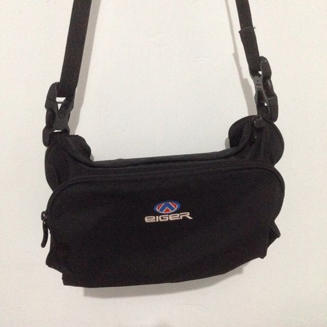 Sling Bag Hitam Eiger Original