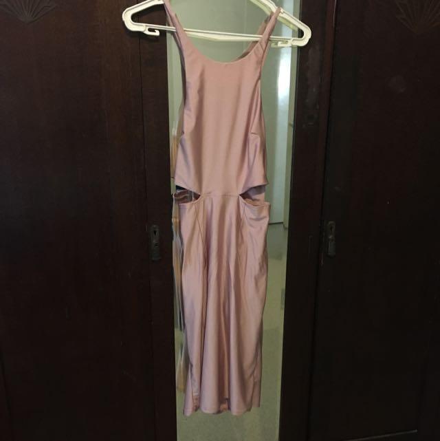 Slinky Material Dress