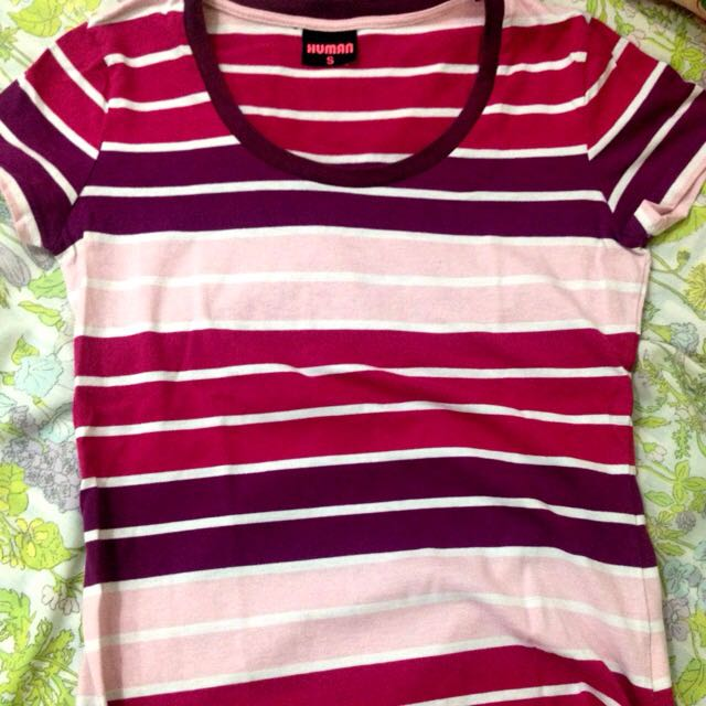 Stripe Tees By Human