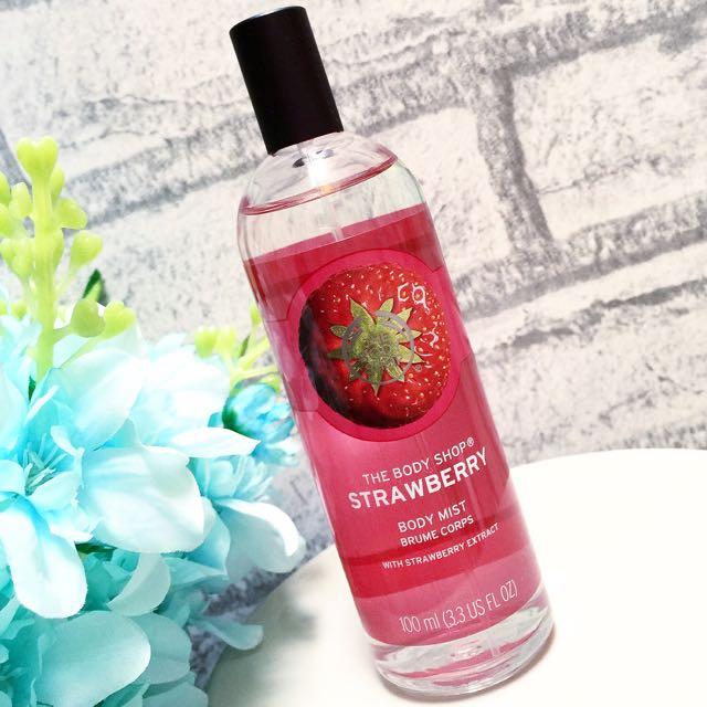 The Body Shop new Strawberry Body Mist 100ml