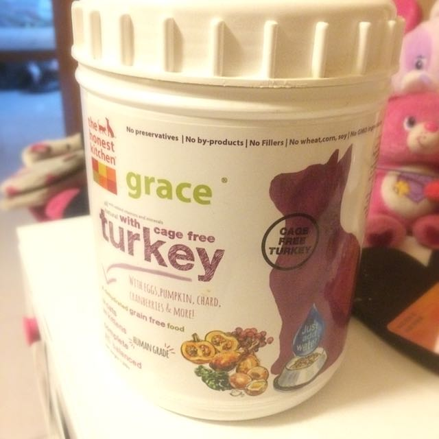 The Honest Kitchen Dehydrated Grain Free Cat Food Grace Turkey 1 5lb