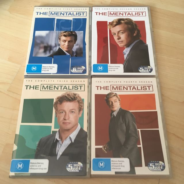 The Mentalist Seasons 1-4