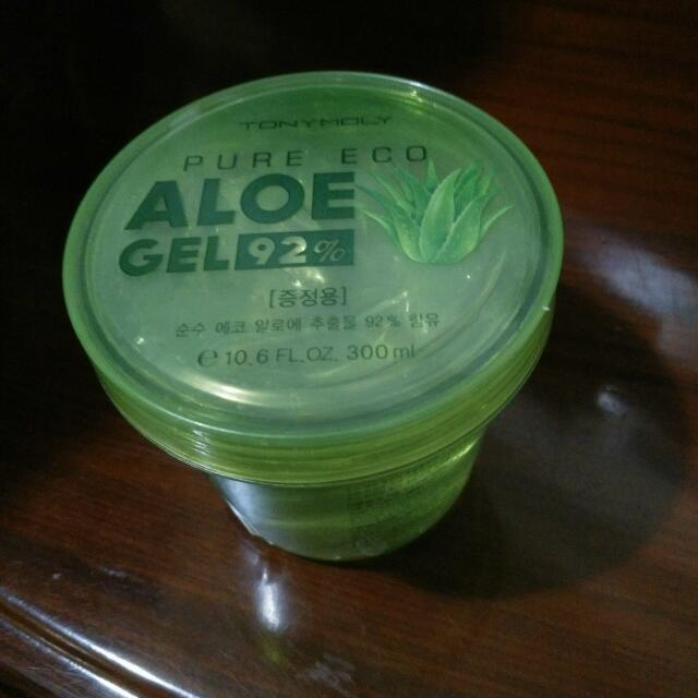 TONYMOLY  Pure Eco Aloe Gel 蘆薈舒緩保濕凝膠