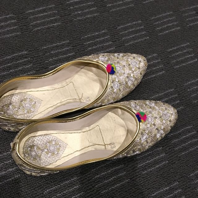 Traditional Indian Punjabi shoes