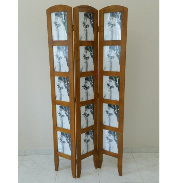 Tri Fold Floor Standing Picture Frame Furniture On Carousell