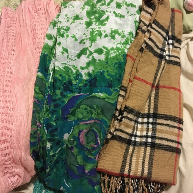 Variety of Scarves and Pashminas