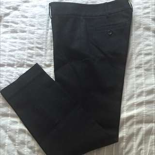 Size 0 - Club Monaco Navy Blue Cropped Pant
