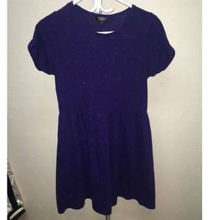 Top Shop Purple Dress