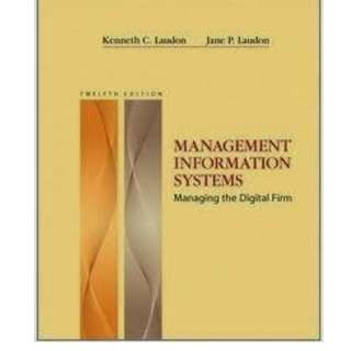Management Information Systems - 12th Edition
