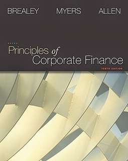 Principles of Corporate Finance - Tenth Edition