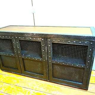手工原木製工業風矮櫃/電視櫃/餐櫃 Zakka /IKEA