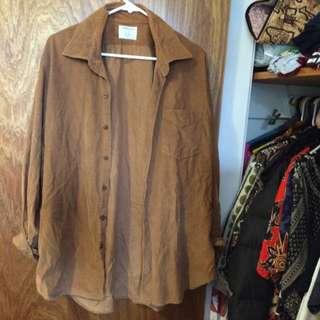 Button Up Cord Shirt