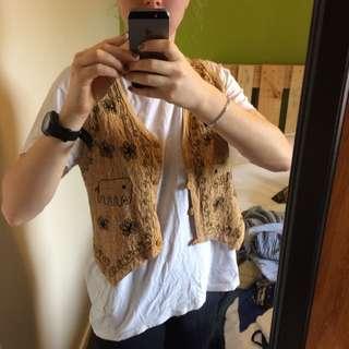 Brown Elephant Vest