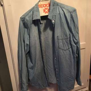 Denim Shirt From Gap