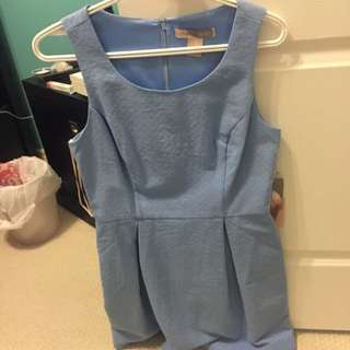 Light blue Summer Work Dress From Forever 21