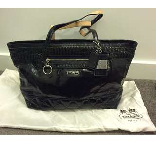 BRAND NEW Coach Patent Leather Tote