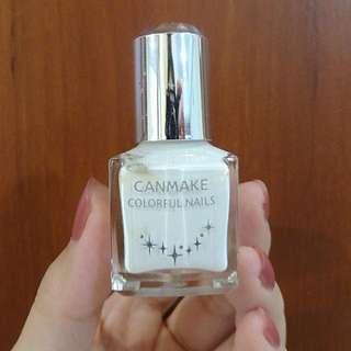 Canmake Nail Polish In White