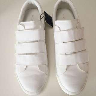 NEW Zara White Shoes Mens Size 10