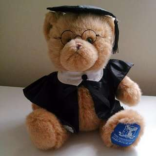Graduation Bear Melbourne Uni Official Merchandise
