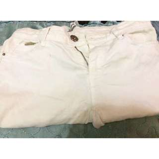 White Jegging (stradivarius)
