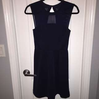 Dark Blue Dress from Dynamite