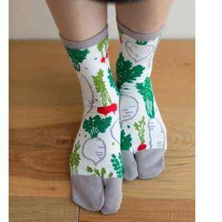 SOUSOU白蘿蔔襪襪 我要來去種蘿蔔囉! #文青#可愛