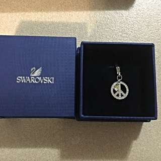 Swarovski Peace Charm